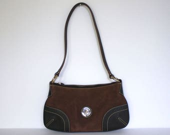 Dooney & Bourke Leather and Suede Purse