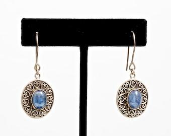 Kyanite 209 - Earrings - Sterling Silver & Kyanite