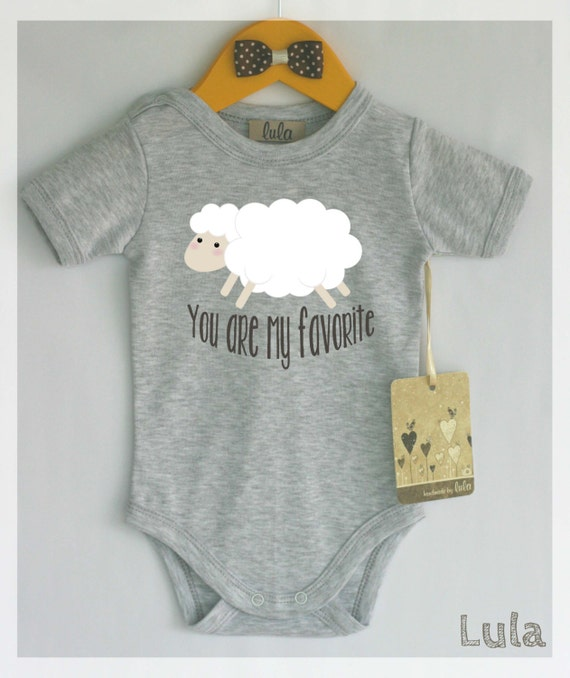 Items Similar To Sheep Baby Clothes You Are My Favorite Baby Romper