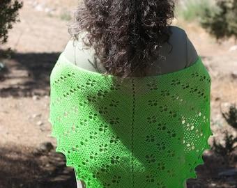 Crochet Shawl - Mountain Shawl