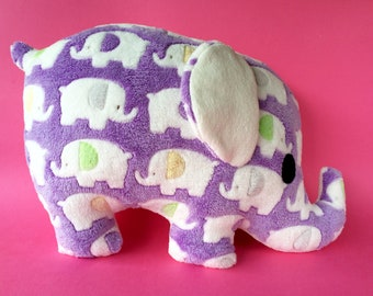 Elephant pillow plush toy