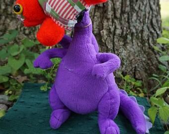 Yaro. FrankenFuzzie, Soft Sculpture, Stuffed Animal, Toy