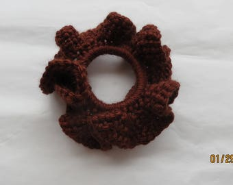 Chocolate Brown Scrunchie