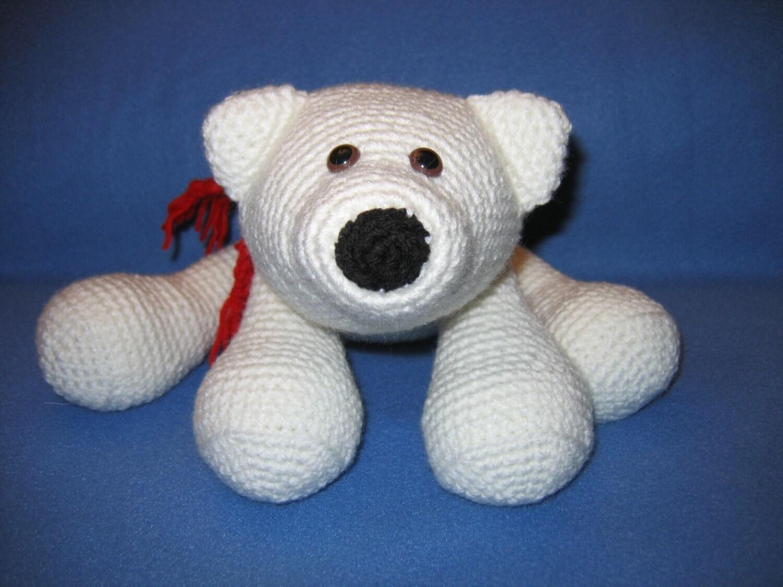 Amigurumi flurry the polar bear crochet pattern save the zoom dt1010fo