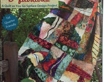 "Fringed and Fabulous Quilt Kit 60"" x 75"""