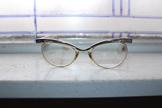 Mid Century Women's Eyeglasses by Hudson Vintage 1950s