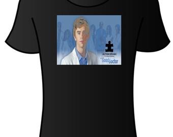 Freddie Highmore/ Good Doctor/ Autism Speaks T-shirt