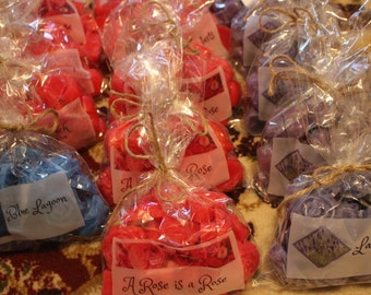 Scented wax tarts, hearts, roses, starts for warmers/burners many scents