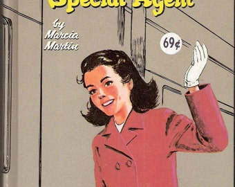 Donna Parker Special Agent Vintage Whitman Book by Marcia Martin Illustrated by Jon Nielsen