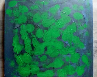 Painting   Acrylic on canvas   'THE GREEN'