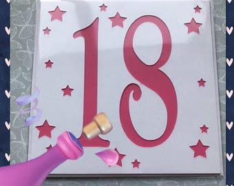 18th Greetings Card