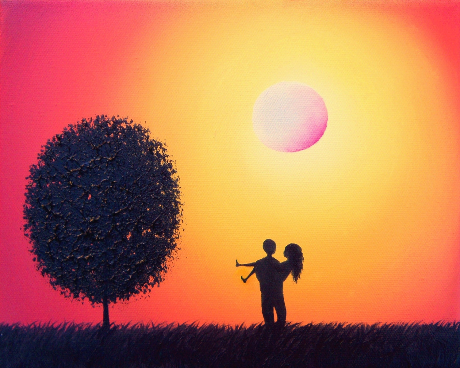 32   Best Silhouette Paintings Of for Silhouette Paintings Of Couples  568zmd