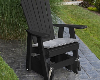 Recycled Plastic Adirondack Glider Chair