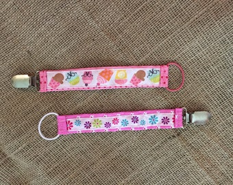 Pair of Pacifier Clips