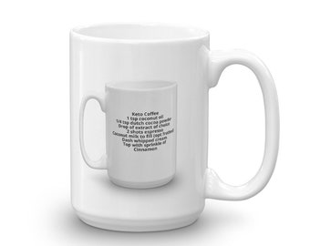 Coffee Mug in a Mug - Keto Coffee - Recipe - Gift
