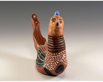 Große Skulpturen Keramik Vogel von Jenny Mendes - Xander