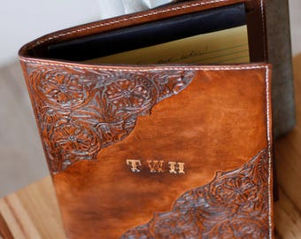 Leather Padfolio | Gifts for Her | Gifts for Him | Leather | Anniversary Gift | Planner | Padfolio | Portfolio