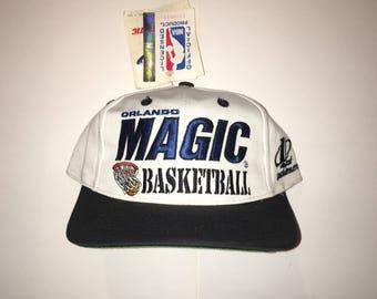 Vintage Orlando Magic Deadstock DS Logo Athletic Snapback