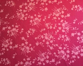 100% cotton fabric Pretty in Pink 112cm wide.