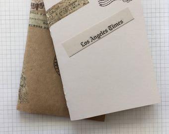 Set of 2 Passport sized notebooks - TN Refills - Travelers Notebooks