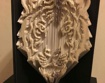 Fancy Tiger Book Folding Pattern
