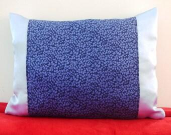 Cushion decorative satin and liberty of london