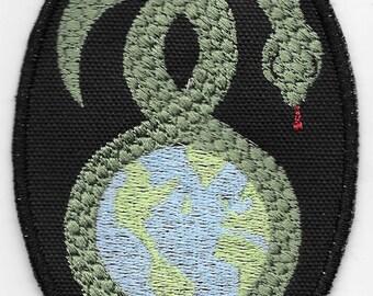 Norse Jormungandr, Midgard Serpent Patch