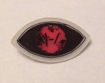 Twenty Øne Piløts – Eye Phase Shrinkable Plastic Pin Pack