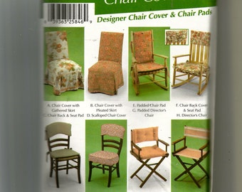 Simplicity Chair Covers Pattern 5952