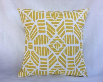 Yellow Pillow Cover - Yellow Couch Pillow Cover - Decorative Sofa Pillows