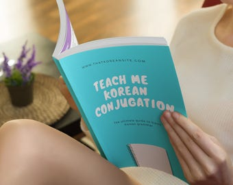 eBook - Teach Me Korean Conjugation