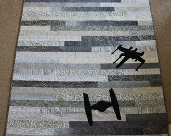 Star Wars Quilt- Full Purchase Price DONATED TO CHARITY