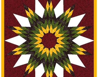 Light weight, easy to install Sunflower Barn Quilt with Free Shipping, 2'x2', 3'x3', 4'x4'      Ships in about one week.
