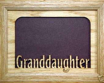 Granddaughter Picture Frame 5x7