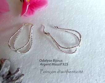 Earrings silver Sterling 925