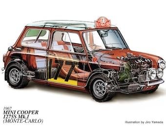 Mini Cooper 1967 Lancia Strataus