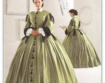 Simplicity 2887 Misses' Civil War Costume Pattern, 16-24