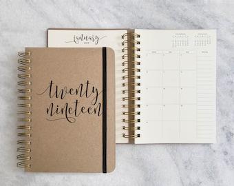 2018-2019 planner | academic planner | daily planner 2018/2019 | agenda, weekly planner