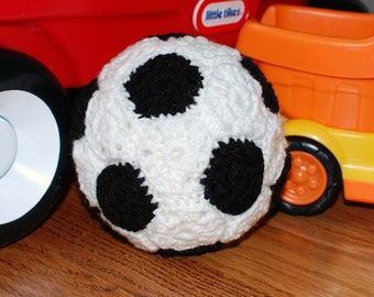 Soccer Ball Crochet Pattern - Immediate PDF Download