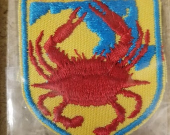 Vintage Maryland crab patch