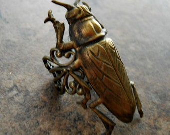Huge Cicada Ring for the Bold