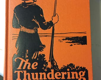 "Vintage Western  Book ""The Thundering Herd"" by Zane Grey"