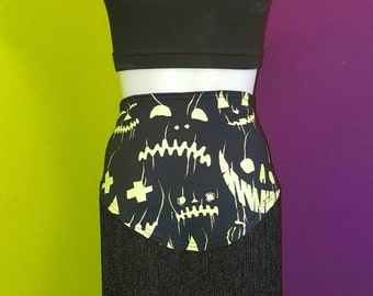Get Your Ghoul On bellydance hipscarf