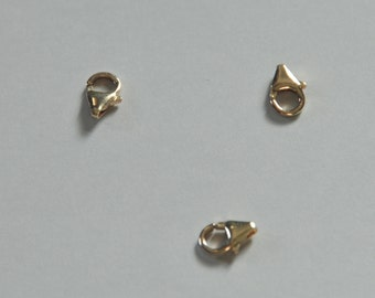 Gold Filled, Lobster Clasp, Lobster Claw, You pick quantity, 6.3x10.2mm, Fast Shipping from USA