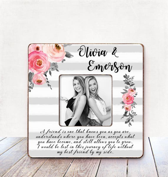 Best Friend Personalized Picture Frame