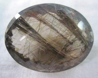 Top Quality of Golden Rutile Quartz Cut Stones
