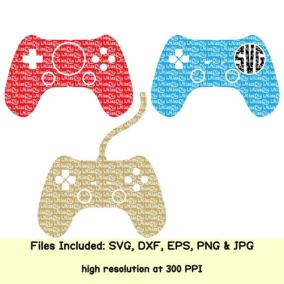 Video game svg controller svg gamer gaming svg dad boy monogram svg ...