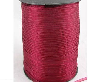 Red 6 mm wide organza Ribbon
