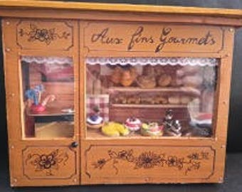 Miniature bakery - miniature showcase