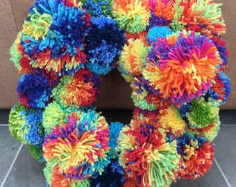 Celebration Pom Pom Ring